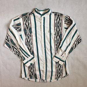 Vintage Western Cowboy Pandhandle Slim Buttonup